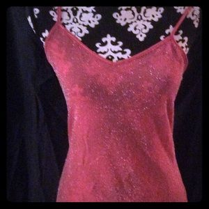 Women's sequin cami